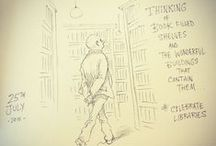 Chris Riddell: Children's Laureate / Some of our favourite doodles and illustrations from the brilliant Children's Laureate, Chris Riddell.