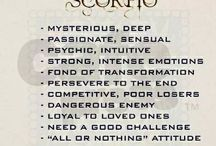 "About me / What I say, what I think ""Scorpio"""