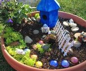 Fairy Gardens for Kids! / Grab some LEGOS, Littlest Pet Shops, or dinosaurs and let your imagination go wild!