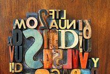 Tipografía & Lettering / Letras, letras y más letras / by Alberto Rey