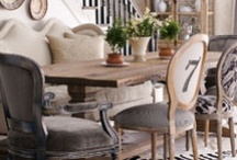 Cozy Dining Rooms / by Jody Garner