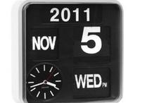 Clocks + Calendars ▲