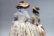 Historia del vestido / Vestidos de época