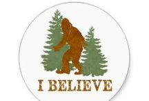 Bigfoot / Collection of Bigfoot designs sold on zazzle.com