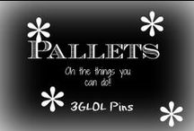 Pallets...oh the things you can do with them / Got a pallet??  Make one of these cool projects with it!!