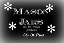 Mason Jars - Oh the endless possiblities! / Check out all of these cool things you can do with a Mason Jar besides canning!