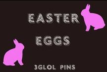 Easter Eggs / Decorating Easter eggs with some new and innovative ideas!!