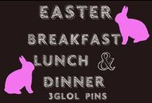 Easter Breakfast/Lunch/Dinner Ideas - Now to choose!