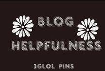 Blog Helpfulness / Blogging, Blogging Tips, Help for Bloggers
