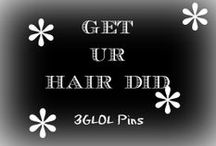 Get ur hair did / Hairstyles and Hair dos. Want to look beautimous?  Might have the style for you in here.
