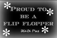 Proud to be a flip-flopper / Cool ways to create unique flip flops.