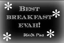 Best Breakfast EVAH / Yummy breakfastness...what do you make for breakfast?
