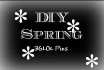 DIY Spring / DIY projects to make for Spring time!