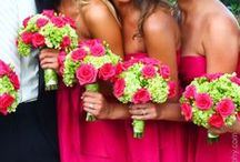 Wedding Flowers - Bouquets, Boutonnières, Corsages, Centerpieces / Everything from wedding centerpieces to bridal bouquets