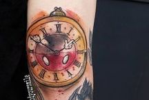 Tattoos / disney and other wonderful tattoo art.