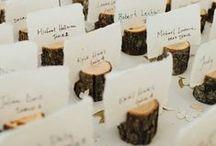 ❥ Wedding inspirations / Ideias pra lá de originais para sua festa! Inspire-se
