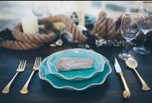 ❥ Love tables / Ideias de mesas decoradas para seu casamento na praia!