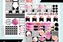 FREE. PLANNER. PRINTABLES / A round up of all my favourite free planner printables from around the web.