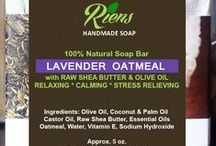 Riens Handmade Soap / Riens Handmade Soap. Home of Natural Luxury, Herbal and Handcrafted soaps with shea butter http://www.rienshandmadesoap.com/