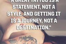 Tat's piercings & teksten / Tattoo en piercing ideeën & mooie teksten