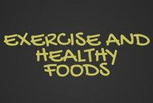 Exercise and Healthy Food / EXERCISE, FITNESS, YOGA, HEALTHY FOODS, RECIPES