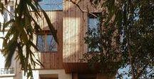 Extension contemporaine maison Paris / Architecture contemporaine Extension de maison paris ile de france Extension ossature bois Extension contemporaine