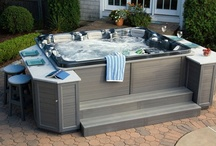 Thermospas Showroom / Browse through Hot Tubs available from Thermospas. Check here for pricing - http://bit.ly/NU3I9d / by Thermospas Hot Tub Spas