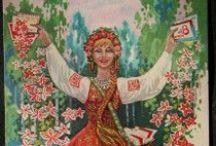 International Women's Day - vintage postcards
