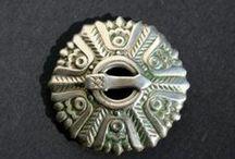 Vintage Estonian broche