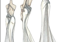 Fashion Sketches  / by Cris Cost