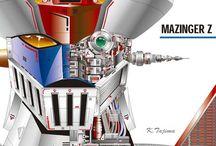 Robots & Mechas / by Tomas Villalta
