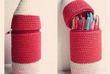 amigurumi pencil case