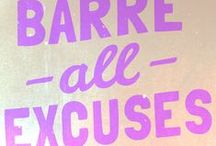 Grin & Barre It / Barre with style!