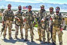Afghan-Iraq KIA Military Heroes RIP - God Bless You / by Kim&Pauly