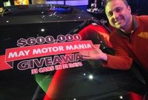 ROCKSINO 2014 / The year of May Motor Mania (we gave away 31 cars in 31 days!) and nominated for Best of Cleveland. 2014 was a good year.  / by Hard Rock Rocksino Northfield Park