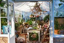 Greenhouse / Télikert, üvegház, fedett terasz... álmok,ötletek