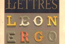 DESIGN // typography / lettering