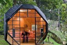 garden offices / werkplek in de tuin: maak van je tuinhuis een werkstudio
