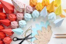 CRAFT // origami / paper