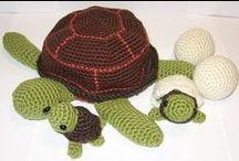 amigurumi turtles