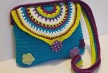 Crochet purses & bags