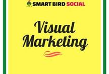 Visual Marketing / How to use visual marketing in your business to increase traffic, engagement, and sales.