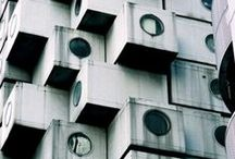 Kisho Kurokawa - Nakagin Capsule Tower Building