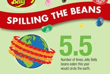 Beanfographics / To celebrate National Jelly Bean Day (April 22nd) we've gathered a collection of fun numbers and facts about Jelly Belly jelly beans into these easy to read infographics! / by Jelly Belly Candy Company