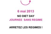 6 mai : Non aux régimes ! Vive la gourmandise ! / 6 mai : Journée sans Régime, abandonnez les privations et faites vous plaisir pour un jour et pour toujours !