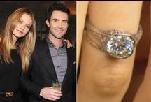 Celeb Engagement Rings  / A whole load of celebrities have gotten engaged this year. So to help you find your perfect engagement ring we have gathered them all in one place for you.