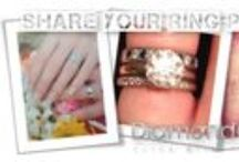 Photo Competition Entries / Win £100 for your DiamondGeezer.com wedding rings? To enter just send a picture of you wearing your engagement ring. It couldn't be simpler!