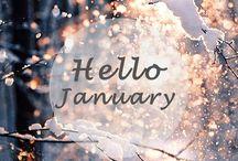 Januari • January • Janvier • Gennaio • Enero • Januar