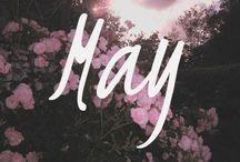 Maj • May • Mai • Maggio • Mayo • Mai
