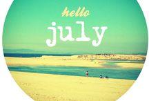 Juli • July • Juillet • Luglio • Julio • Juli